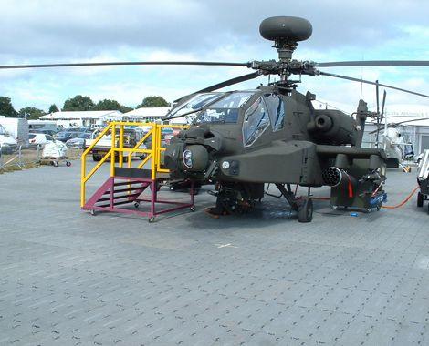 3.000 m2 gulv - helikopter og trappe