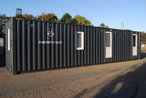 40 fods specialindrettet container – Vi modificerer containere efter dit behov