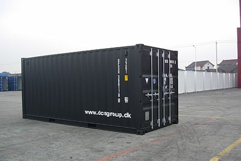 40 fods specialindrettet container