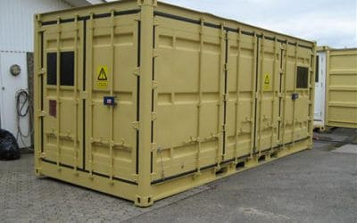 Ammunitions container
