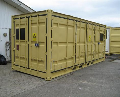 Ammunitionscontainer