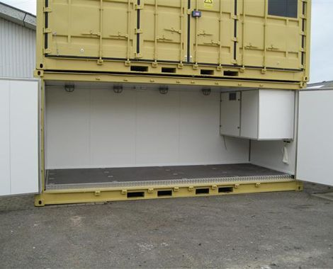 Ammunitionscontainer stablet