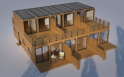 Container Housing for Students