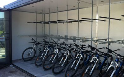 Bicycle Storage – container designed for storing bicycles