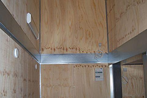 Container til flytbar produktion - sammenbygget