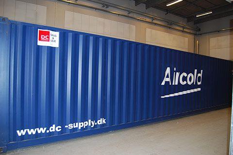 Flytbar teknik container