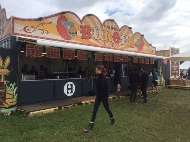 Halifax Burger Circus på festival
