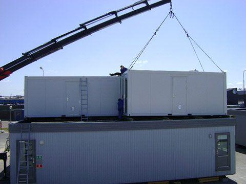 Transportabel ISO container til beboelse