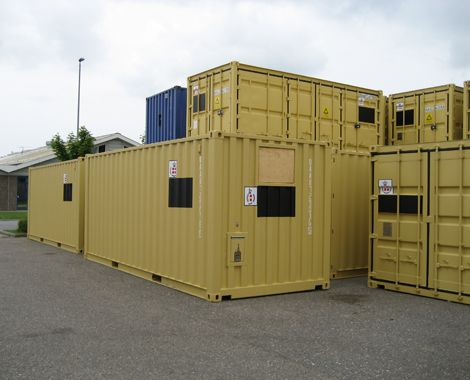 Isoleret container