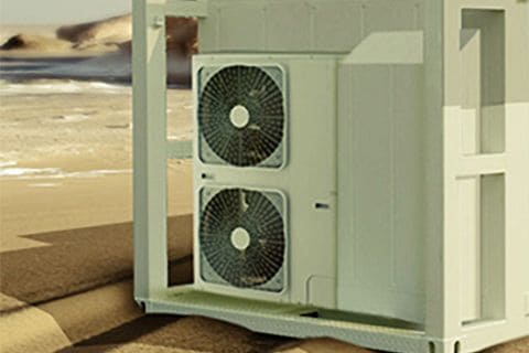 Kølecontainer ventilator