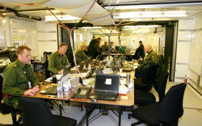 Communications centre for the Army Command Support School in Fredericia