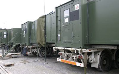 Communications Container