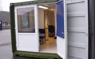 Office container for military use
