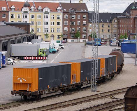 Mandskabsbeboelse til Banestyrelsen - togsæt