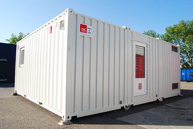 Temporary Kitchen and Canteen - modular solution in containers