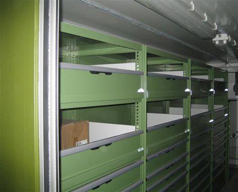 Reservedelslager indretning