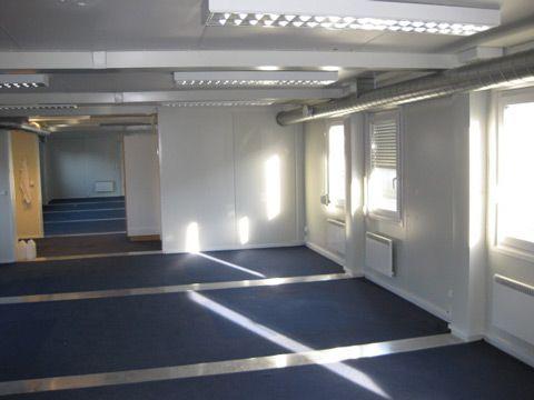 Mobil kontor container indefra