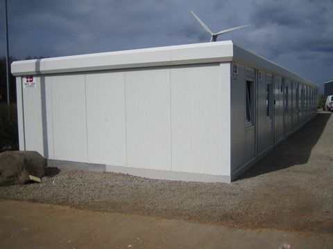 Mobil kontor container udefra