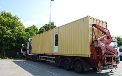 Mobile Packing Container
