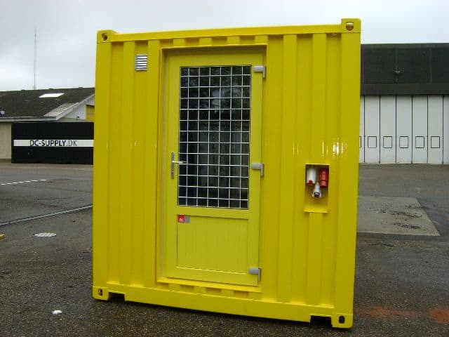 Opdelt service container
