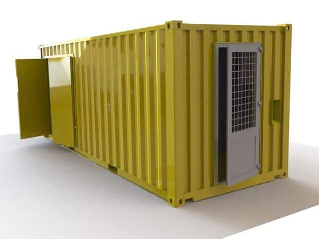 Opdelt service container set fra siden