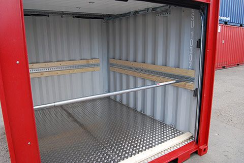Reefer containere indretning