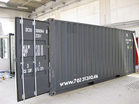 Service container udefra