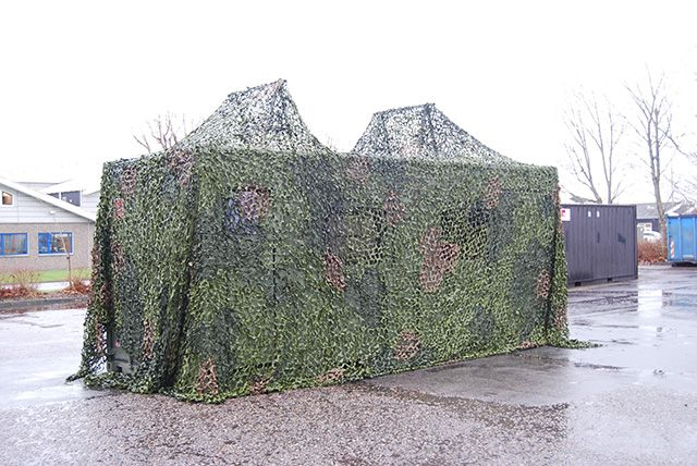 Special designet militær container
