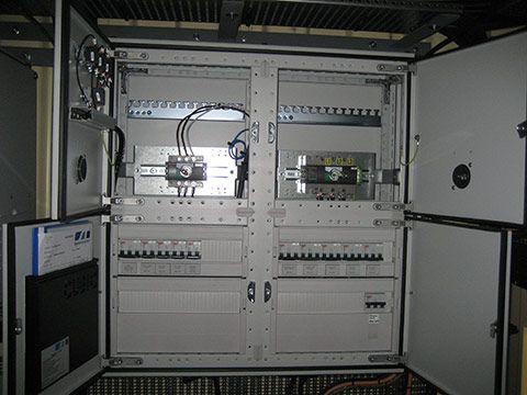 Teknik container med CSC-godkendelse - eltavle