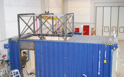 Test Container for Ballast Water Treatment