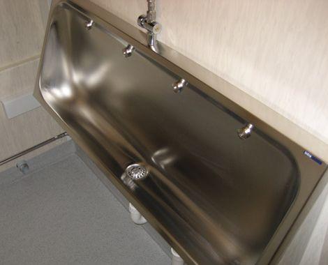 Toilet container militært brug - urinaler