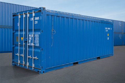 20 fods containere