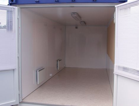 Kontorskurvogn uden vinduer