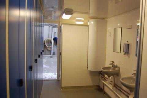 Skurvogn DCS 2052 toilet