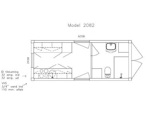 Beboelse 2082 - plan