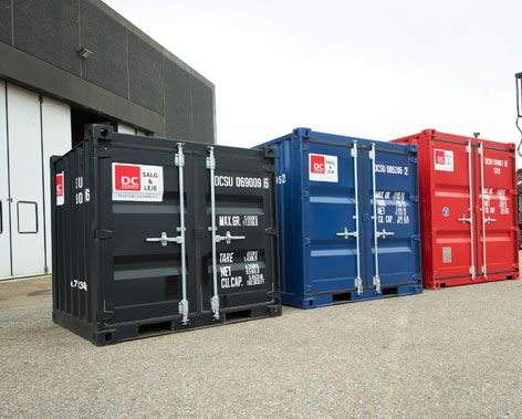 6 fods containere