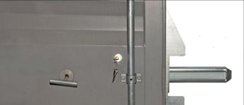 Låsebeslag Birepo indvendig låsemekanisme