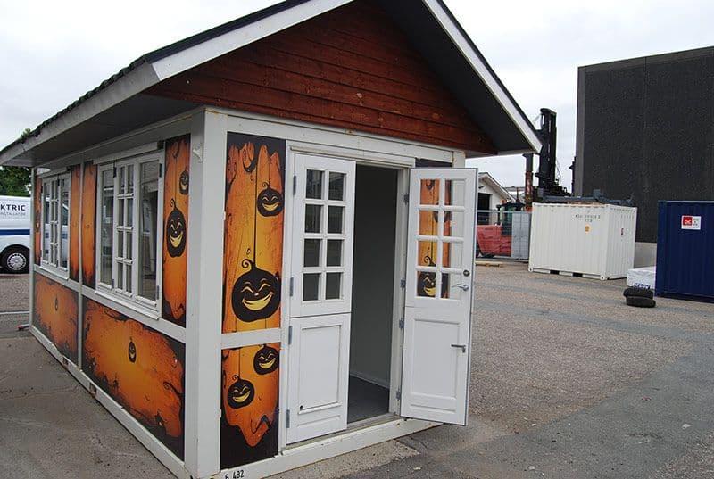 Shop - HALLOWEEN SHOP, Sales container