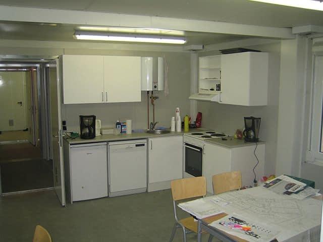 Byggepladsindretning - køkken