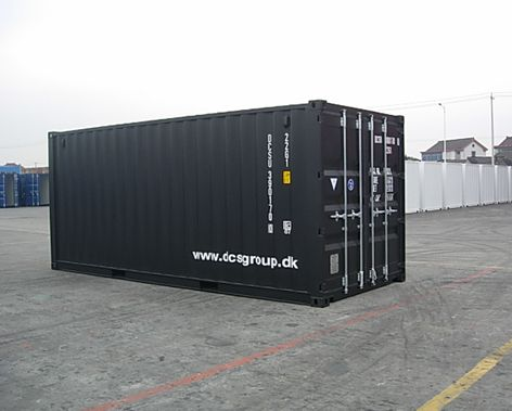 Containere 20 og 40 fods