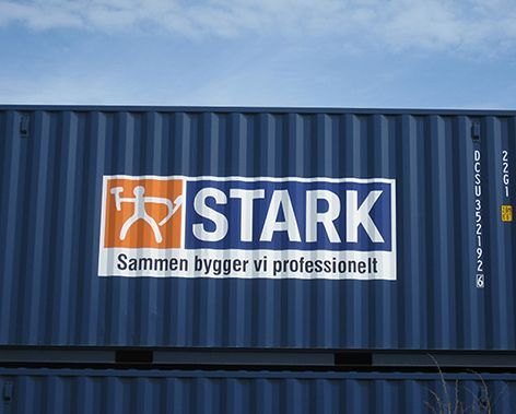 Containere med logo - Stark
