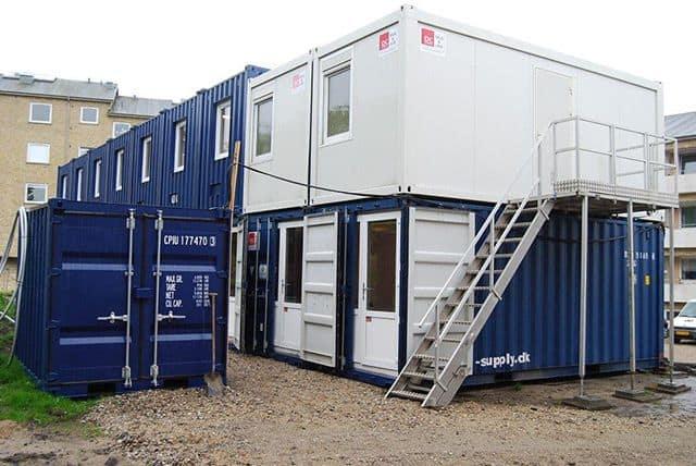 Container salg og udlejning til byggeplads