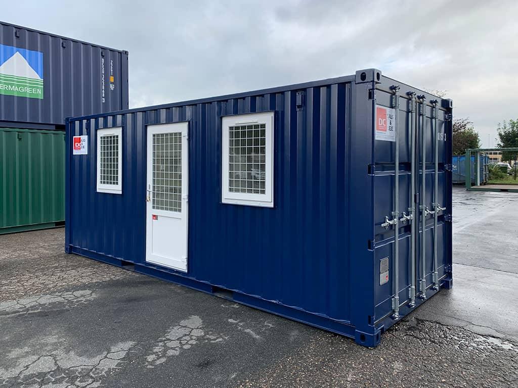 Container skurvogn med toilet og bad DCS 2032