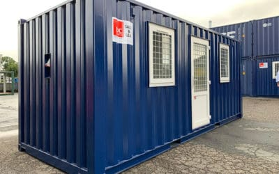 Residential Container with Two Rooms – DCS 2032