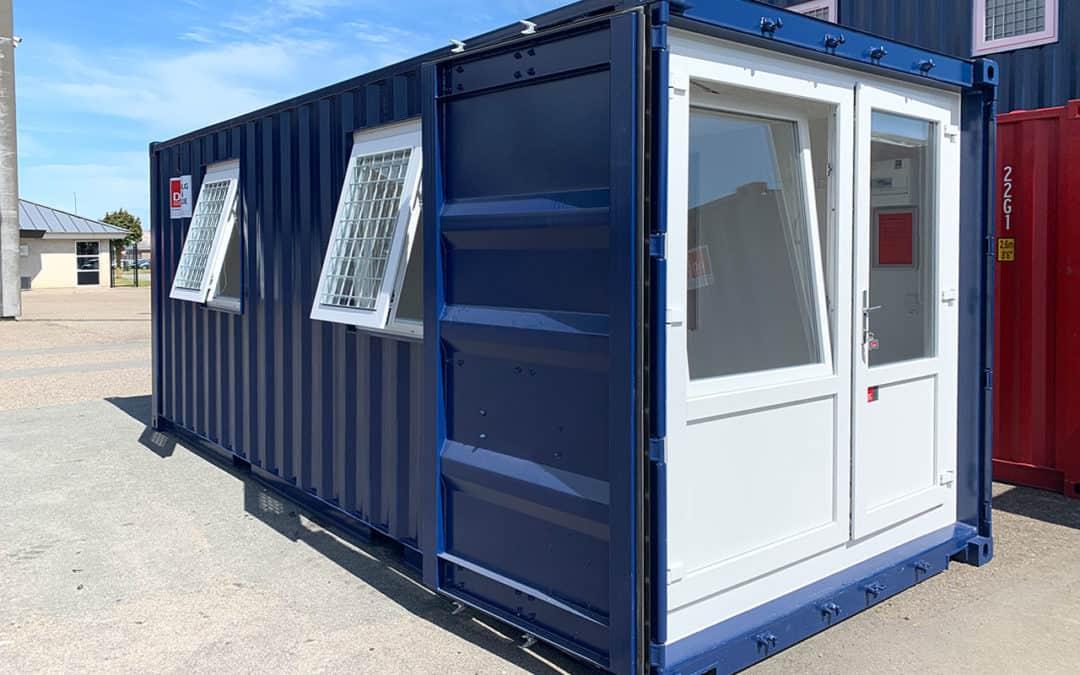 Kontorskurvogn med 2 vinduer – DCS 2042