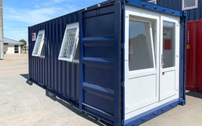 Office Container with Two Windows – DCS 2042