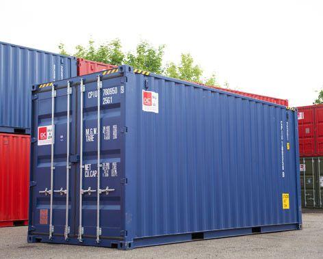 High Cube 20 og fods containere
