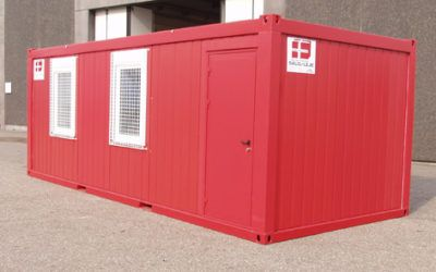 Opholdscontainer – isoleret mandskabscontainer – DCS P-37