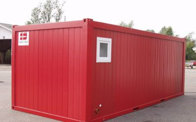 Insulated office container with kitchenette & toilet – DCS P-37T