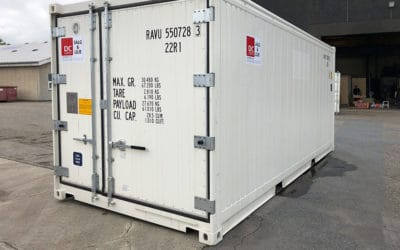 10ft, 20ft & 40ft Reefer (Fridge and Freezer) Containers